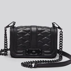 """""""Whether running to an appointment or going out at night try wearing a stylish cross body bag like this quilted Rebecca Minkoff option. Love the high-end look without breaking the bank."""" (<a href=""""http://www1.bloomingdales.com/shop/product/rebecca-minkoff"""