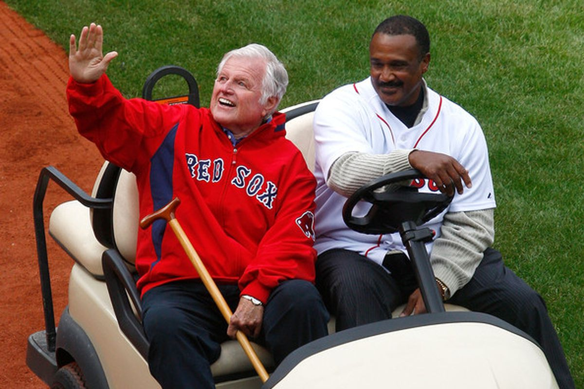 The Red Sox have an Angel of their own pulling for them.