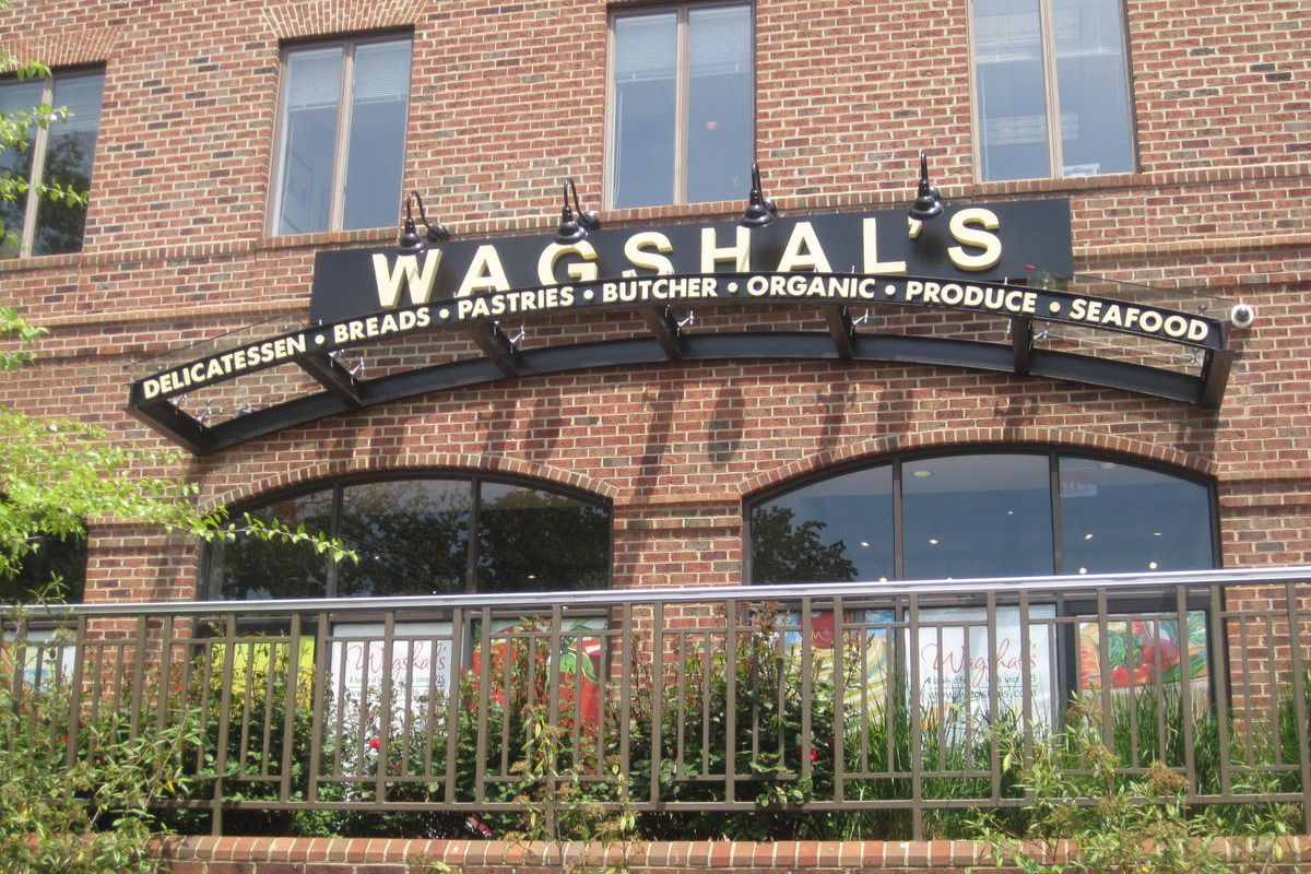 The entrance to the new Wagshal's.