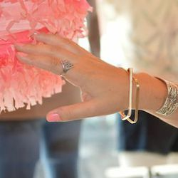 Edith Hart has a selection of delicate bracelets for under $20 a pop. [Photos: courtesy of Edith Hart and Boldface Communications]