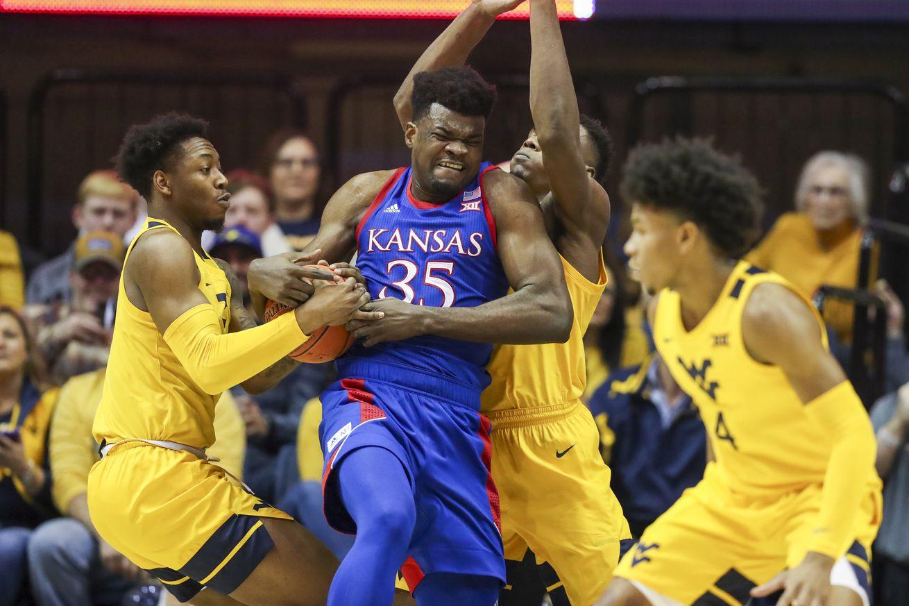 NCAA Basketball: Kansas at West Virginia