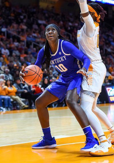 COLLEGE BASKETBALL: JAN 10 Women's Kentucky at Tennessee