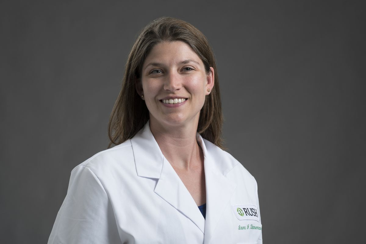 Dr. Laura Zimmermann, a preventative care specialist at Rush University Medical Center, says don't dismiss signs of a cold or symptoms that resemble allergies because these could be mild COVID.