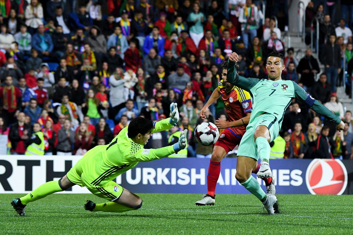 World Cup Qualifying  Ronaldo saves Portugal d9ca21de5