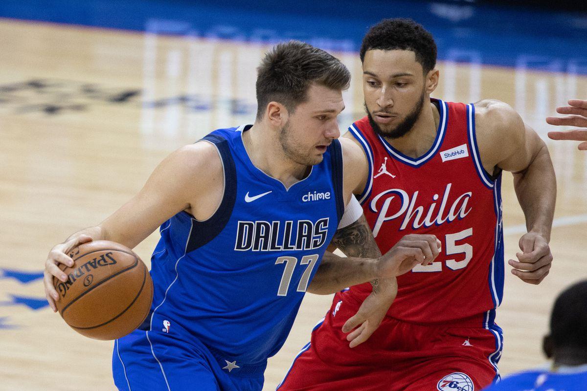 NBA: Dallas Mavericks at Philadelphia 76ers