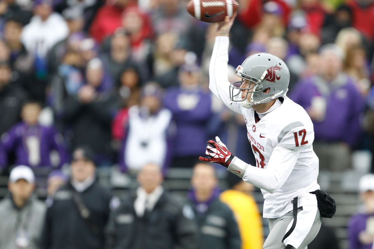Connor Halliday and the Crazy Cougars will be the first thing from the Pac-12 that bowl fans will see.