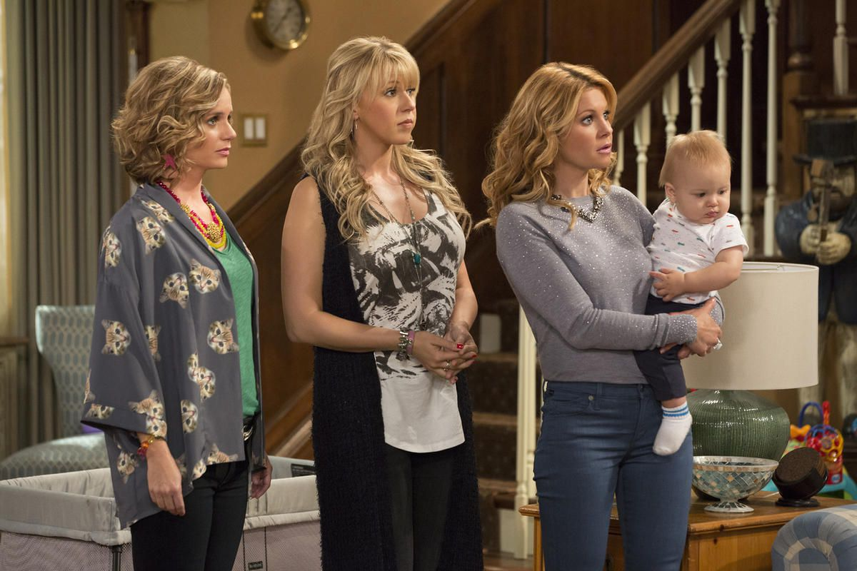 """The first season of the Netflix sequel to """"Full House,"""" """"Fuller House,"""" is now on DVD."""