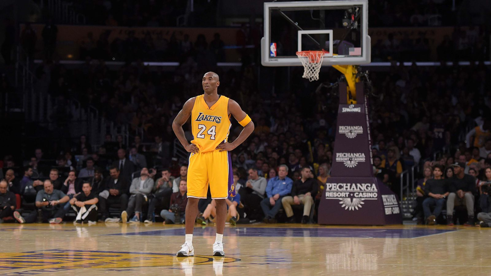 Kobe Bryant is airballing the easiest shots, which is