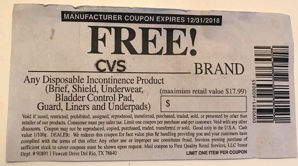 The manufacturer's coupon that Hudson tried to use at a CVS on Friday before a manager called the police. The company issuing the coupon confirms it is legitimate.   Facebook