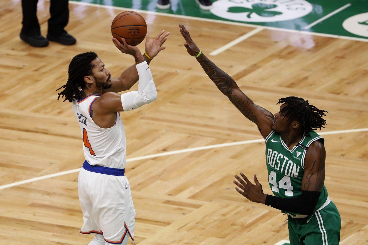 NBA: New York Knicks at Boston Celtics