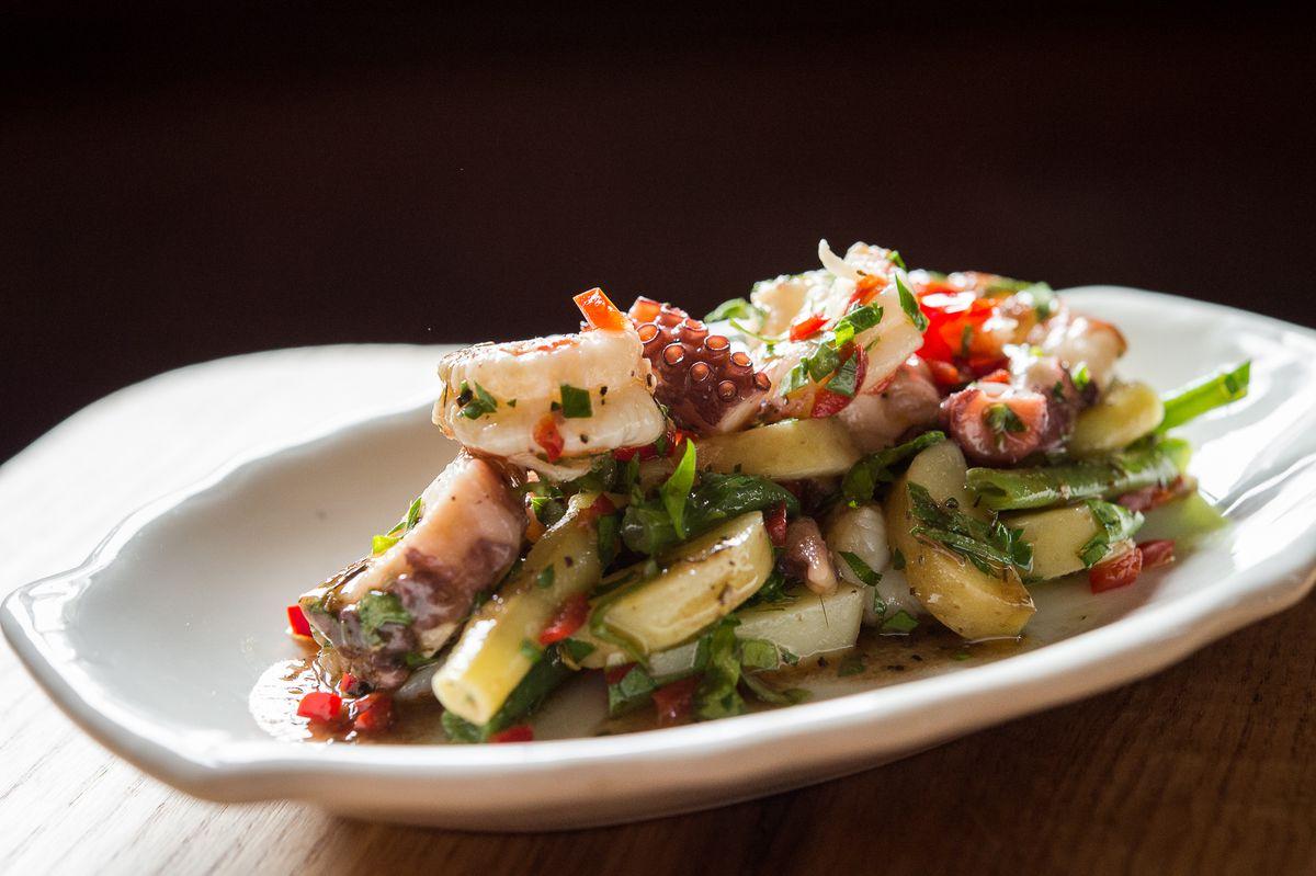 Bar Primi's Seafood Salad