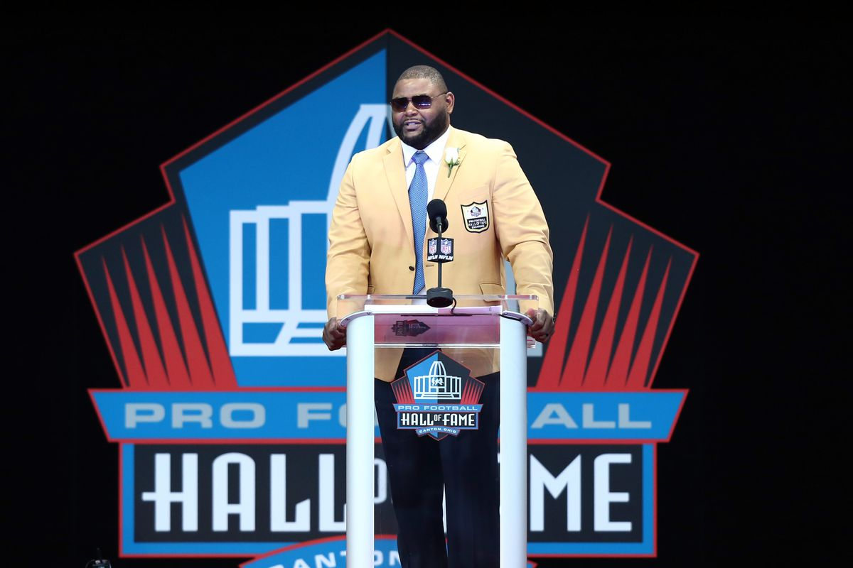 Orlando Pace Is Enshrined In The Pro Football Hall Of Fame Aaron Doster Usa Today Sports