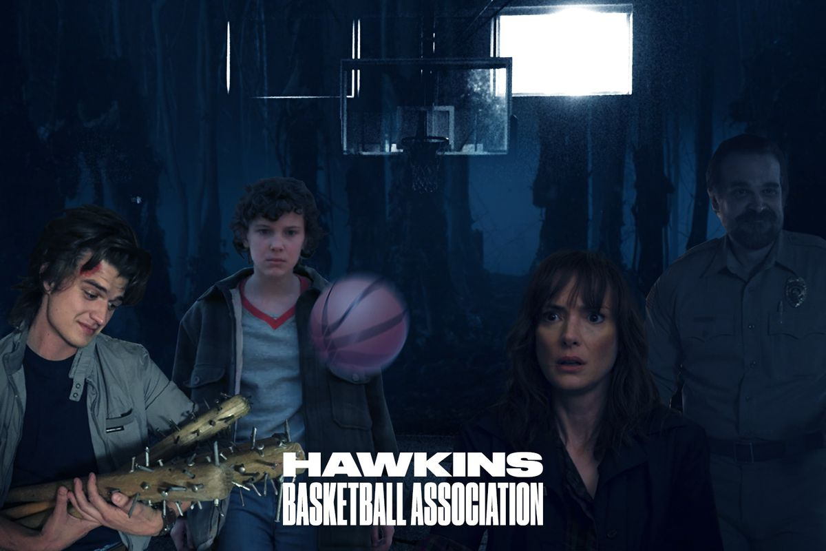 Welcome to the 'Stranger Things 2' basketball universe