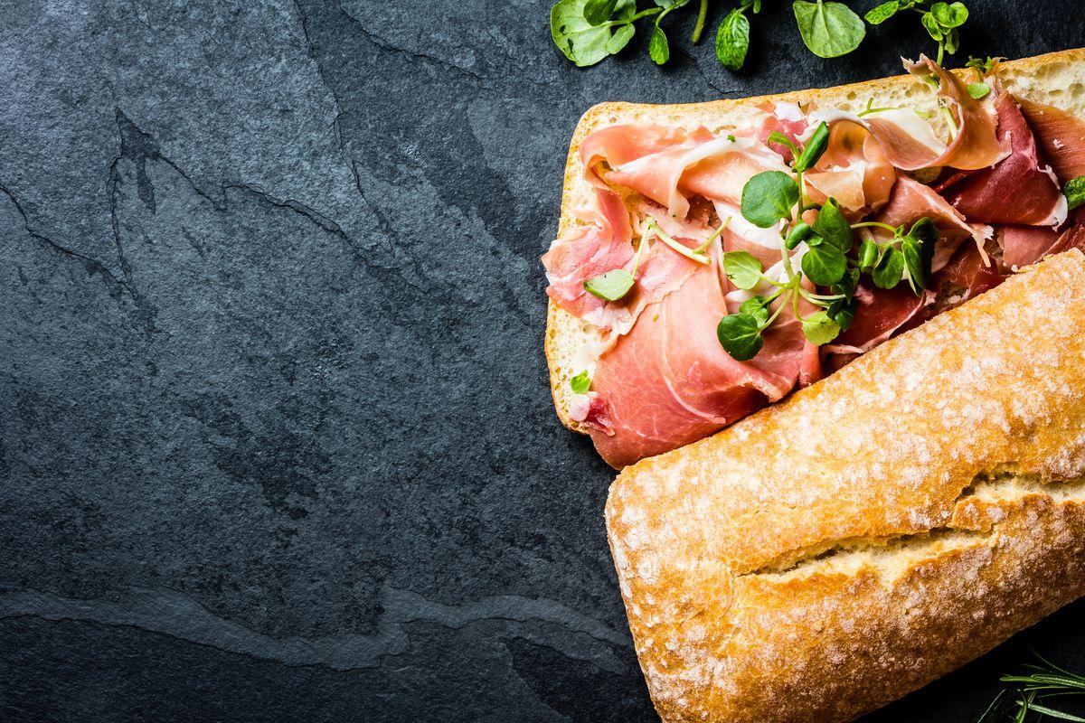 An Italian sandwich