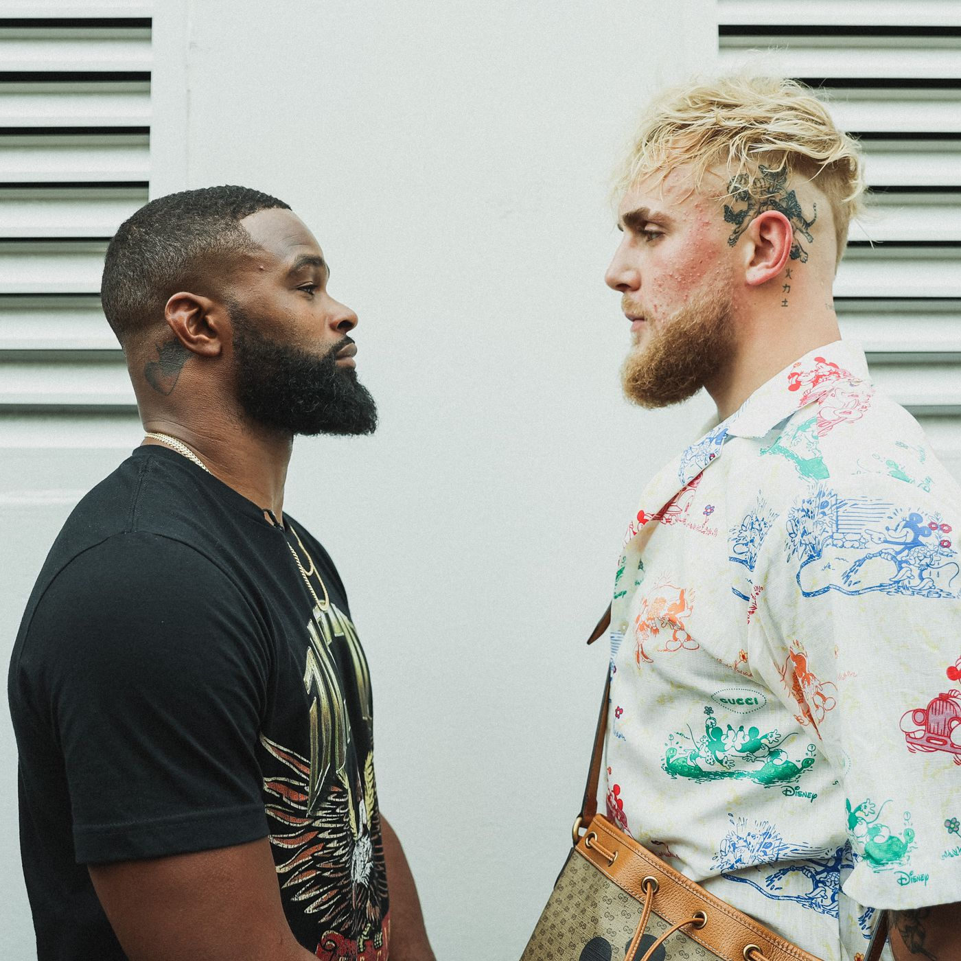 Jake Paul Calls Second Round Ko Tyron Woodley Taking Fight Seriously Bad Left Hook