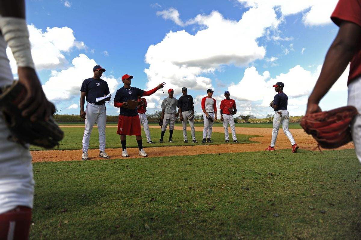 The Washington Nationals baseball academy in the Dominican Republic