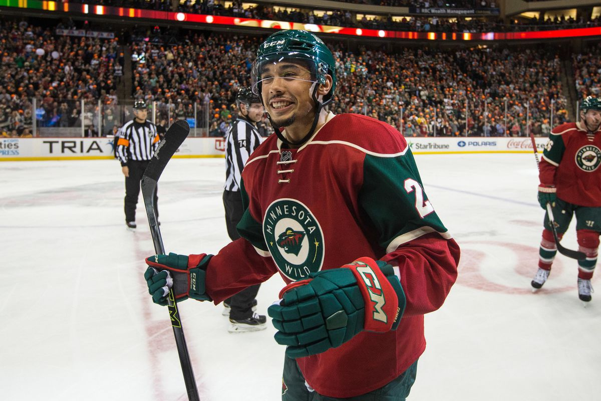 Dumba's one of the most dangerous shooters in the league on the power play.