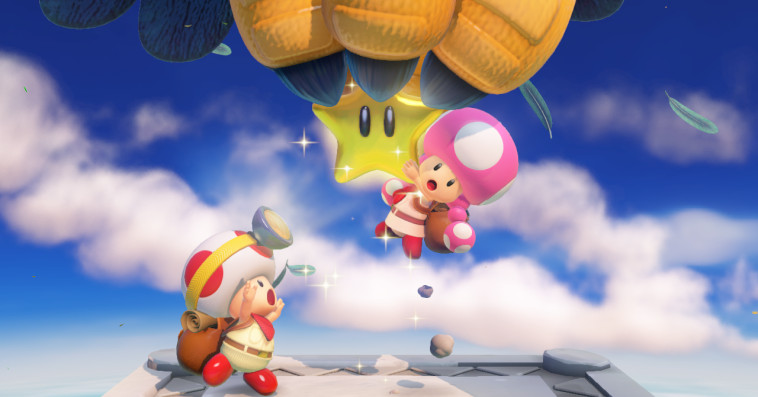 Are you ready to write a song with Captain Toad?