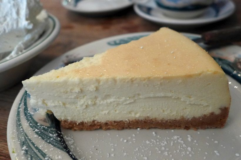 Peter Luger cheesecake
