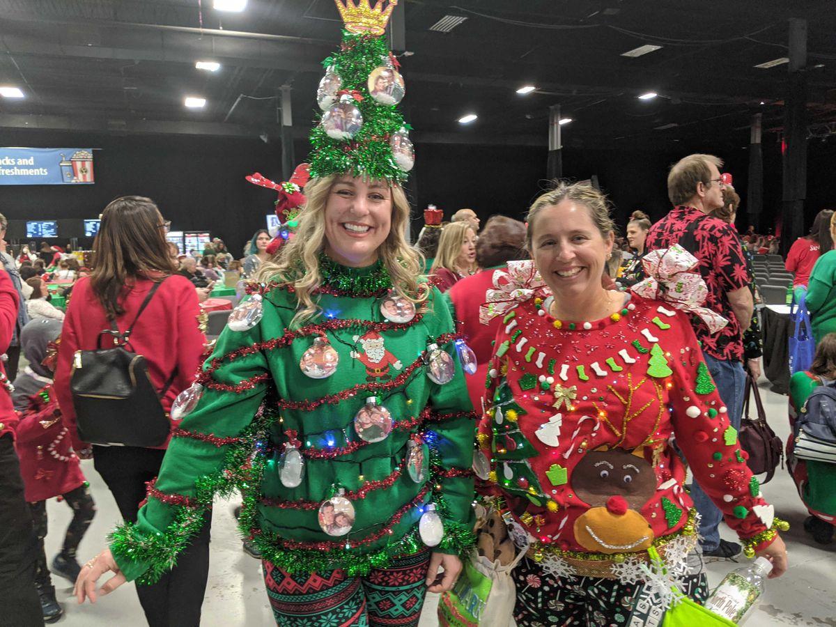 Christmas cosplay at ChristmasCon.
