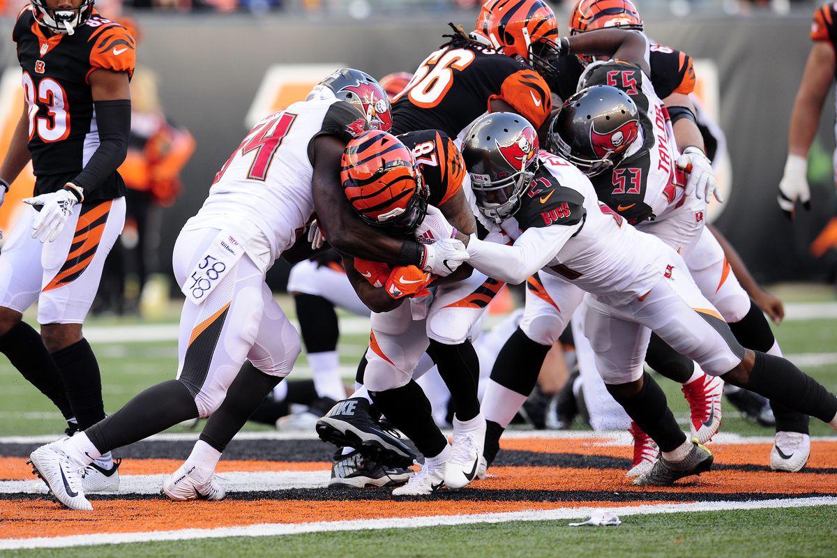 NFL: OCT 28 Buccaneers at Bengals