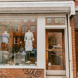 """<b>↑</b> <a href=""""http://shopjumelle.com/""""><b>Jumelle</b></a> (148 Bedford Avenue) has been a headquarters of cool style since 2006, making it an original staple that has withstood the changing retail scene of the area. Both Brooklyn residents and L train"""
