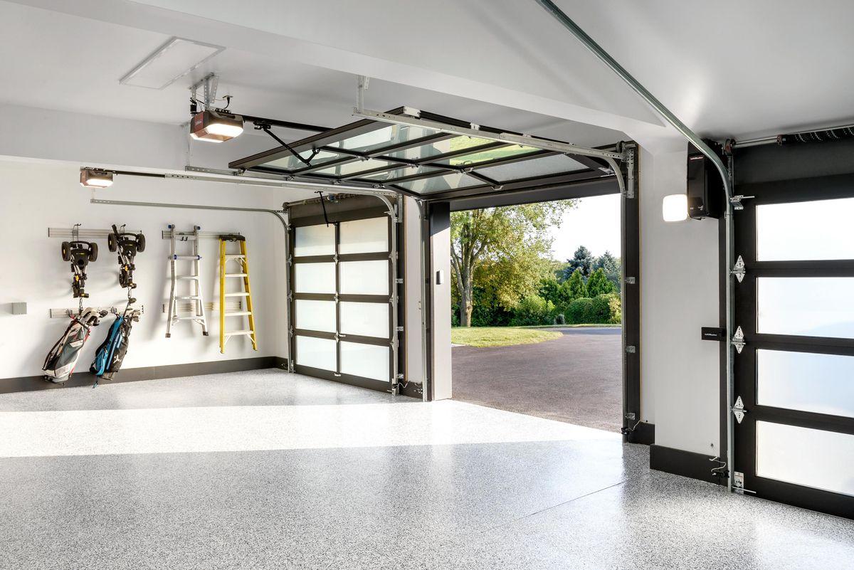 Spring 2021, Reno Planner: Garage Door Smarts, garage from inside