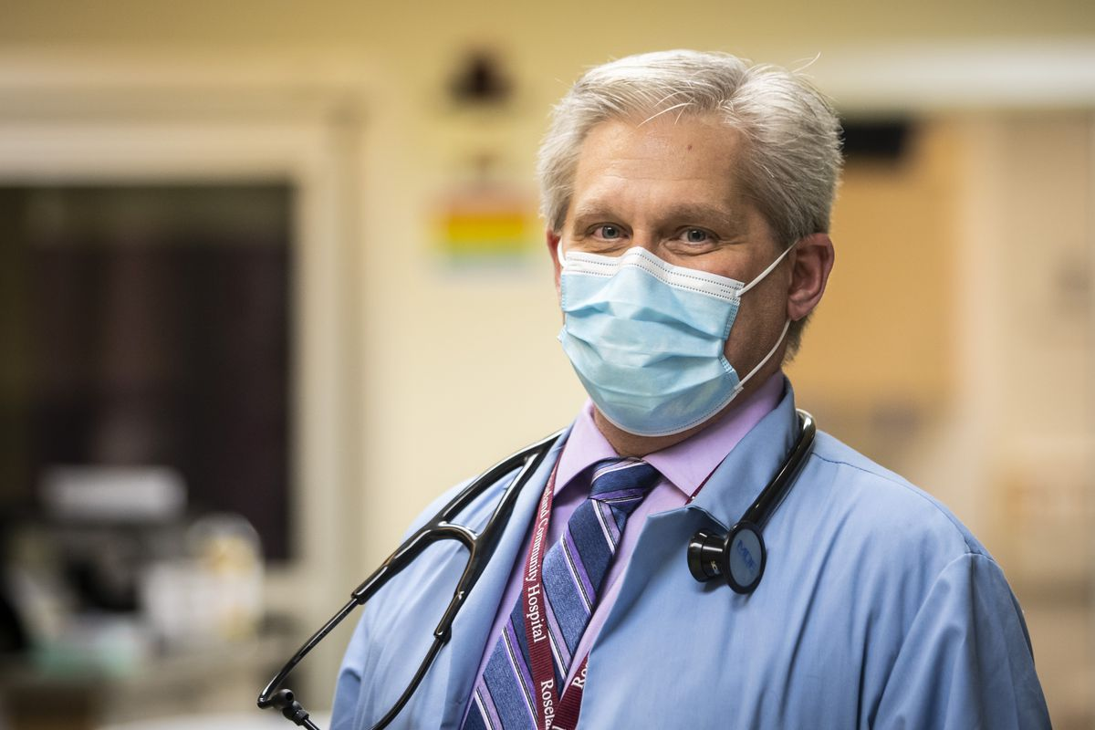 Dr. Roy Werner, medical director in the Department of Emergency Medicine at Roseland Community Hospital.