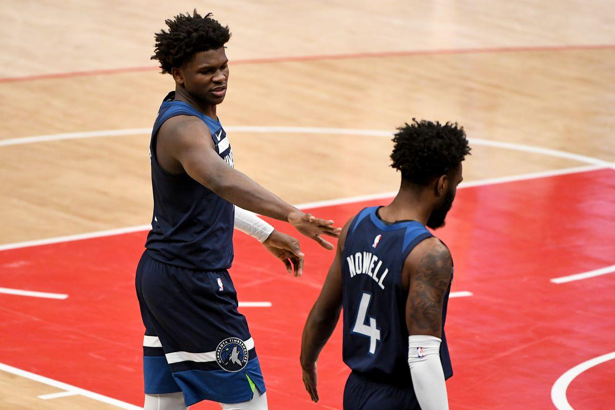 Minnesota Timberwolves v Washington Wizards