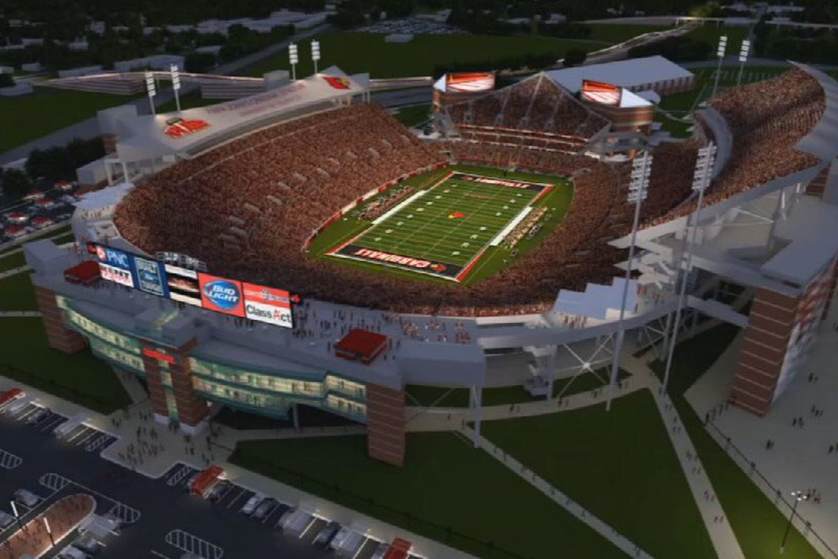 Papa Johns Cardinal Stadium Expansion To Wrap Up A Year Ahead Of