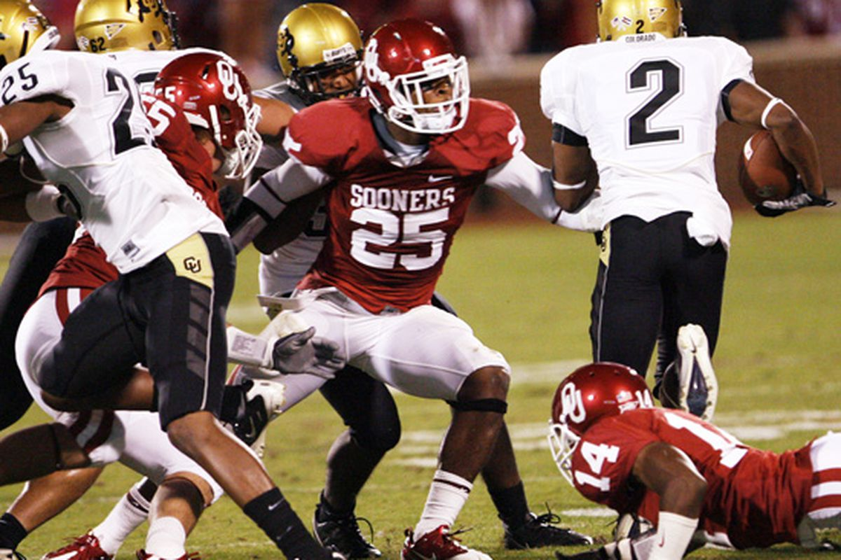 Is Corey Nelson the next great OU linebacker?
