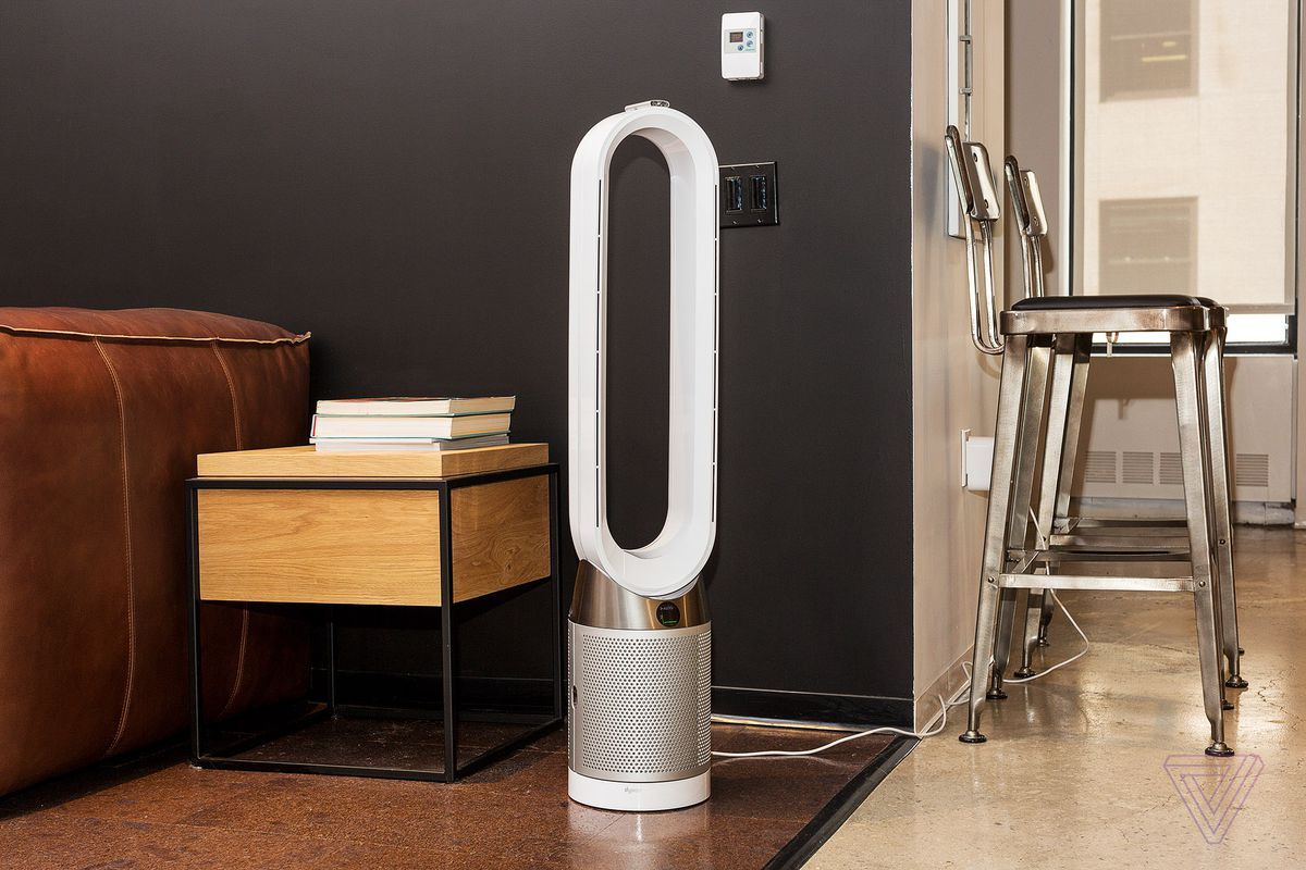 Dyson's new air purifier has an LCD screen that tells you