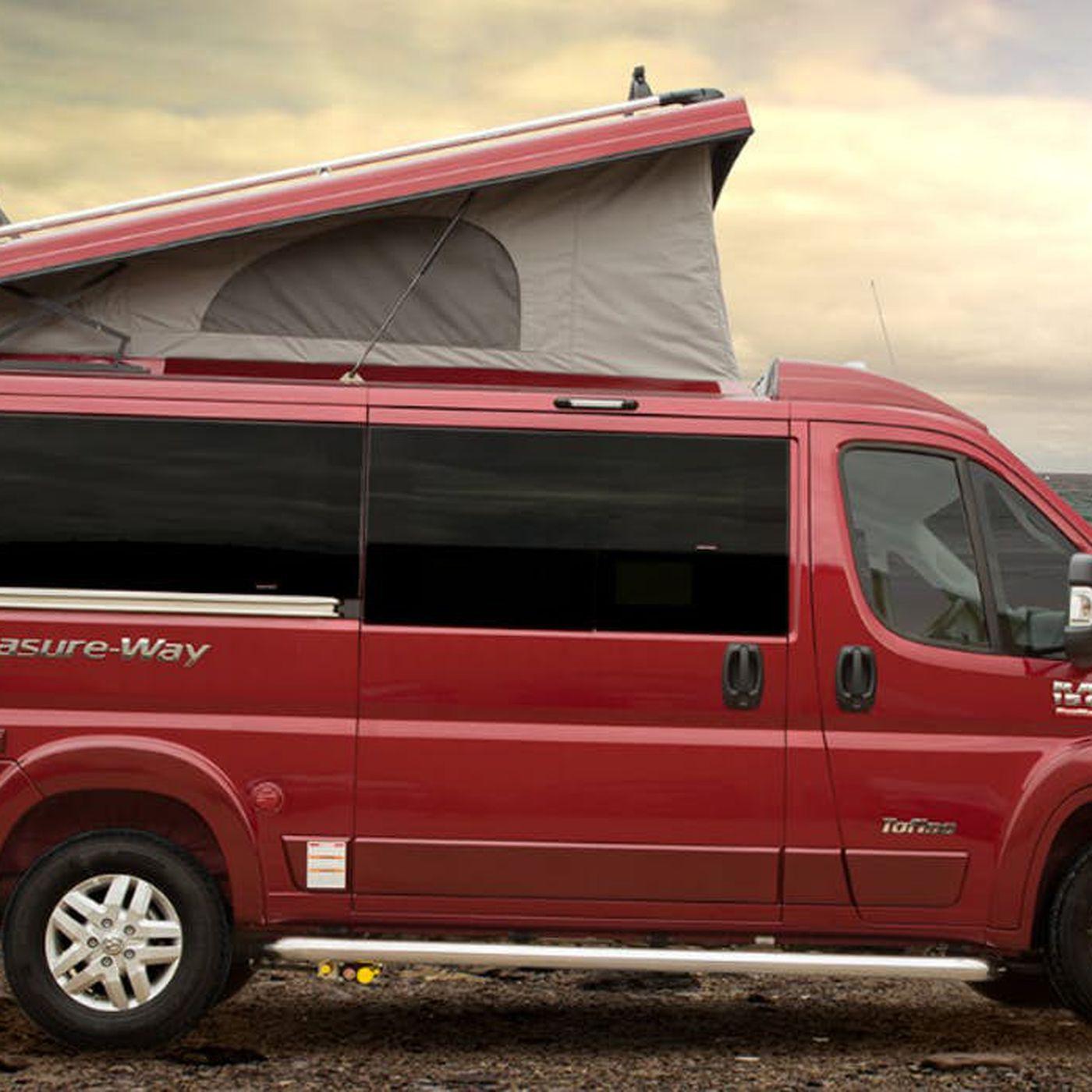 Magnificent Pop Top Camper Van Raises The Roof On Adventure Curbed Home Interior And Landscaping Ponolsignezvosmurscom