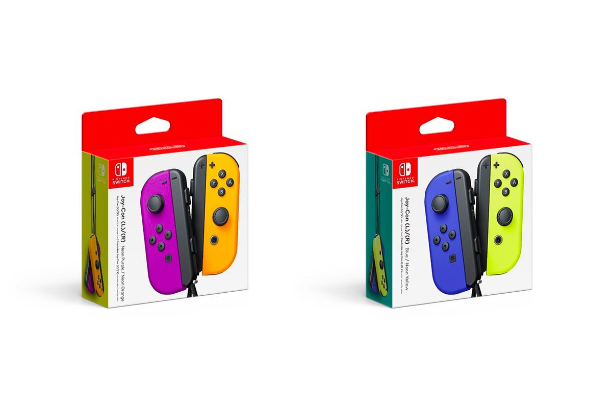 New Nintendo Switch Joy-Con colors coming in October - Polygon