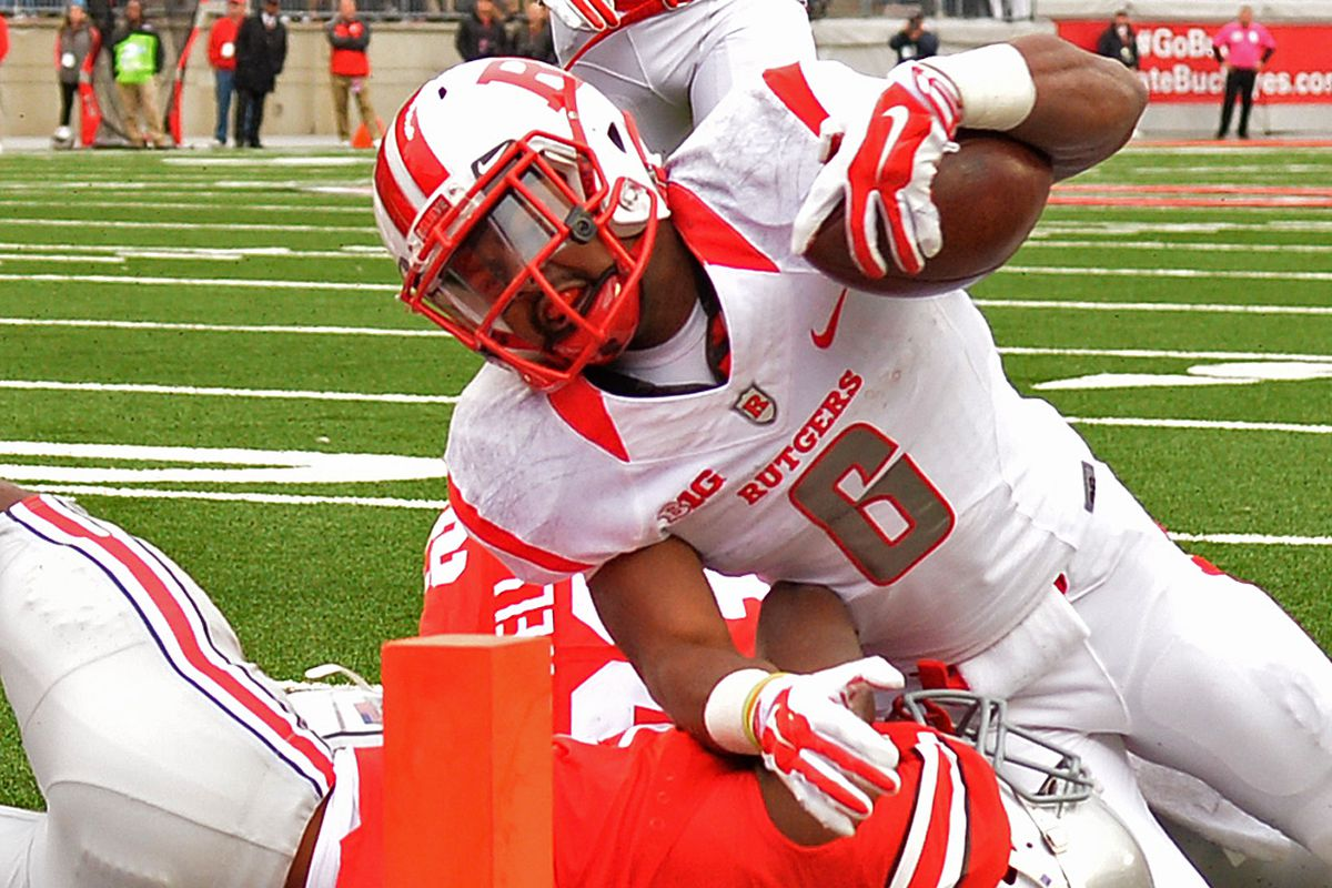 Every TD Rutgers has ever scored vs  Ohio State, ranked