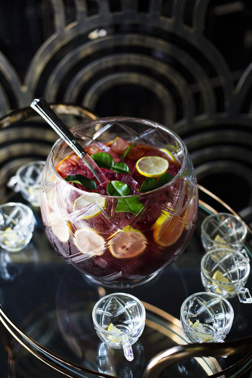 A punch bowl from Genever restaurant in Historic Filipinotown