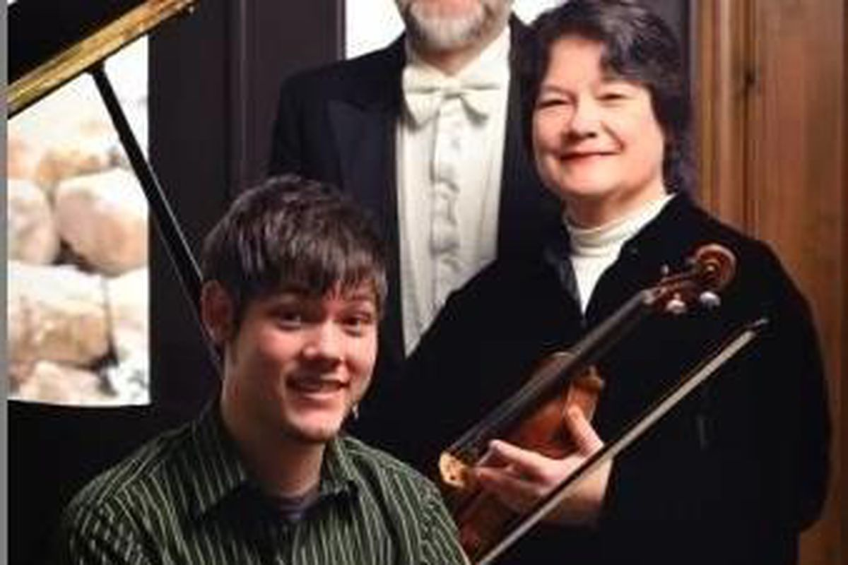 """Richard Hatch is a """"deceptionist,"""" his wife Rosemary is a renowned violinist and their son Jonathan is an accomplished pianist. Together they put on unique family shows that include magic and music."""