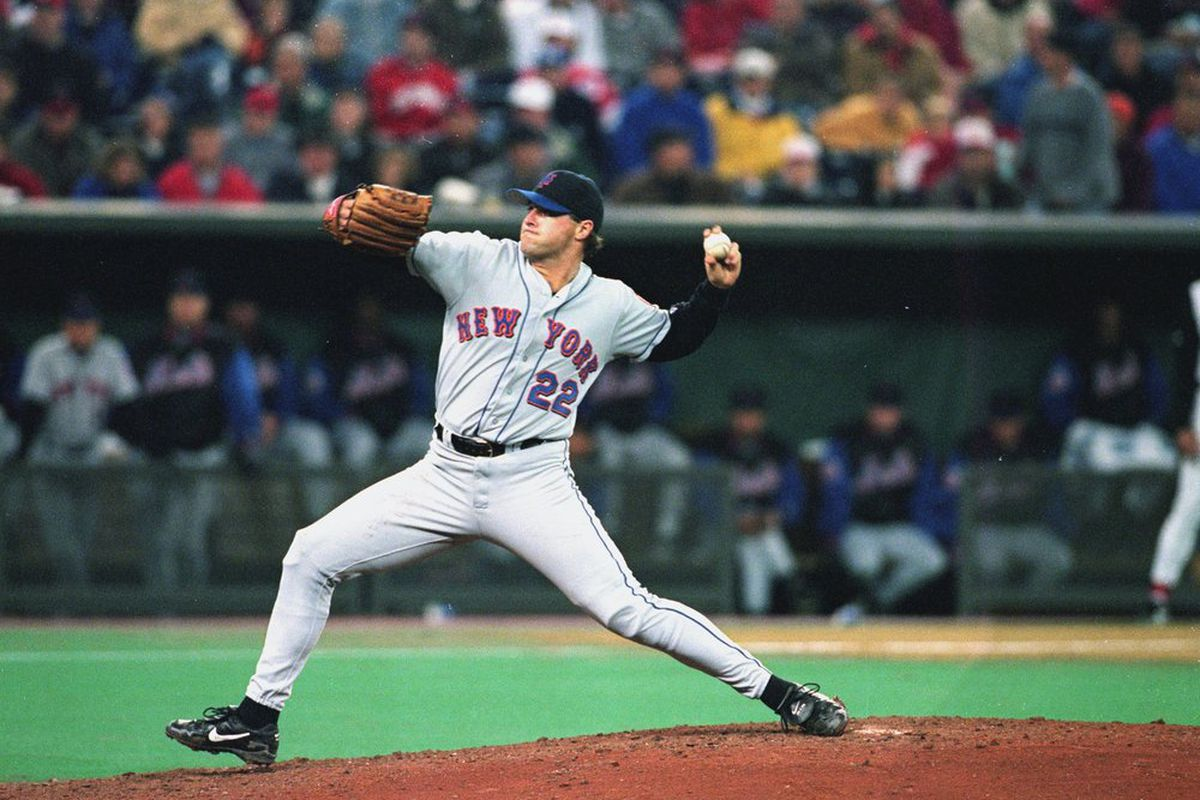 October 4, 1999. Al Leiter throws a two-hit shutout in the season's 163rd game.