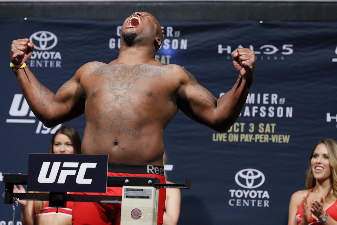 With new contract, Derrick Lewis says he's 'one of the highest paid heavyweights now'