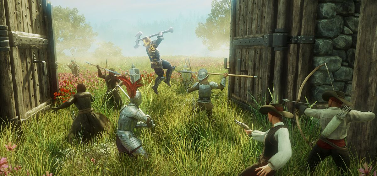 Amazon's questionable MMO has you colonize the 'new world ...
