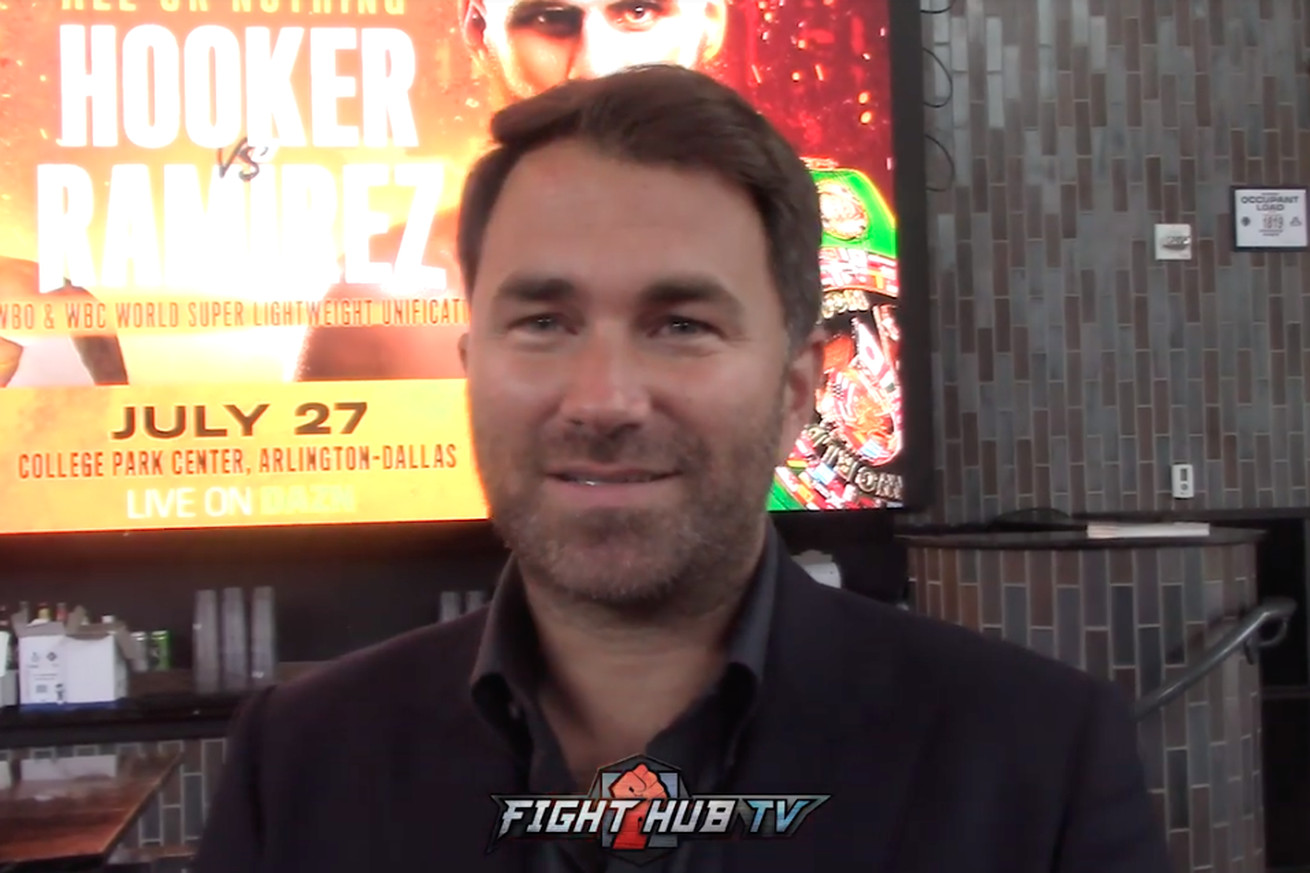 Screen Shot 2019 06 08 at 1.02.59 PM  2 .0 - Hearn responds to Ruiz wanting $50 million, says Wilder has no class