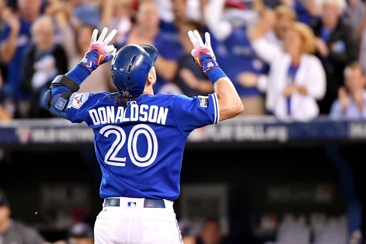 Josh Donaldson's Third Inning Home Run Gave The Blue Jays an Early Lead.