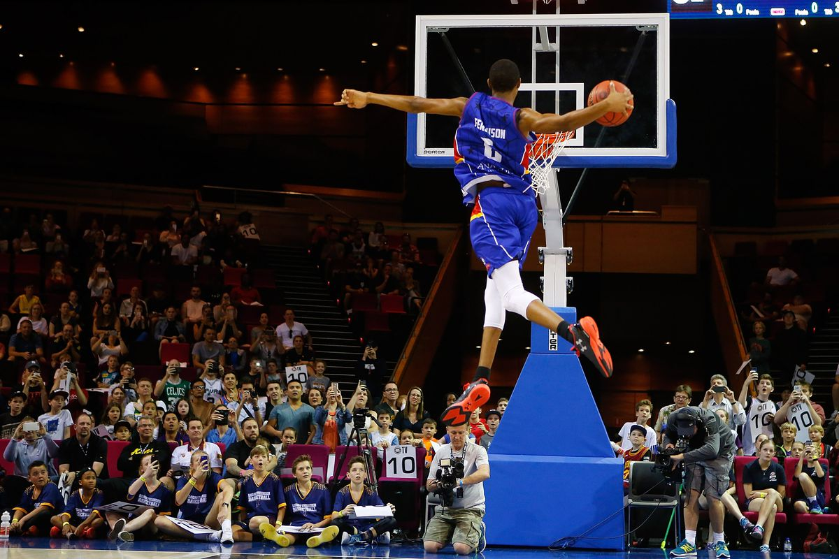 The Portland Trail Blazers select Terrance Ferguson from Adelaide with the No. 20 pick in the Blazer's Edge 2017 NBA Mock Draft.