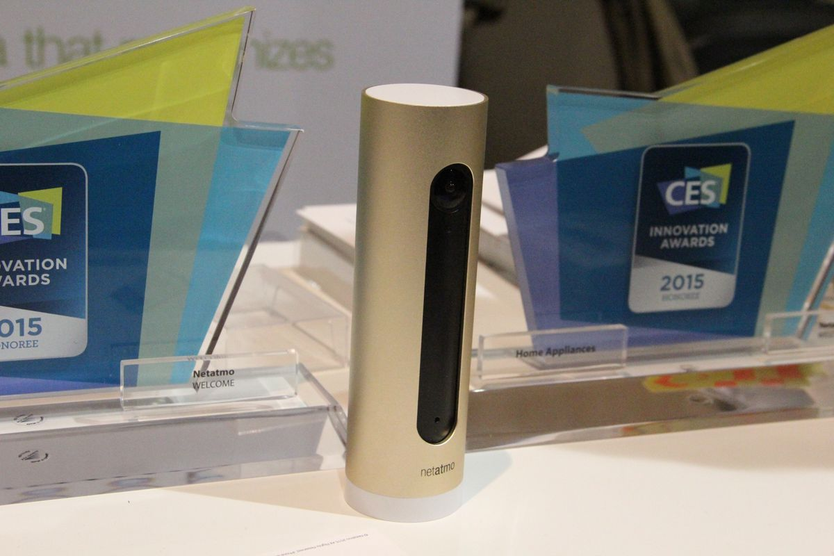 Netatmo's home-monitoring system, Welcome, which boasts facial-recognition technology