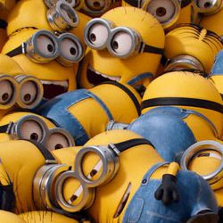 """The story of Universal Pictures and Illumination Entertainment's """"Minions"""" begins at the dawn of time. In the comedy adventure, the Minions try to save all Minionkind ... from annihilation."""