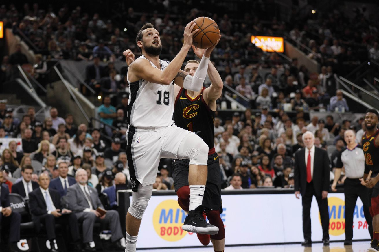 2018-2019 Spurs player reviews: Marco Belinelli