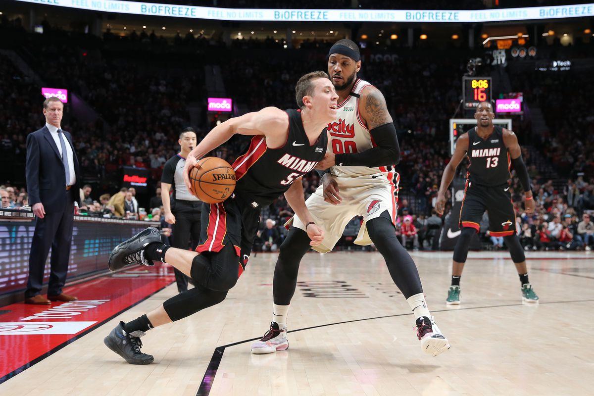 Miami Heat v Portland Trail Blazers