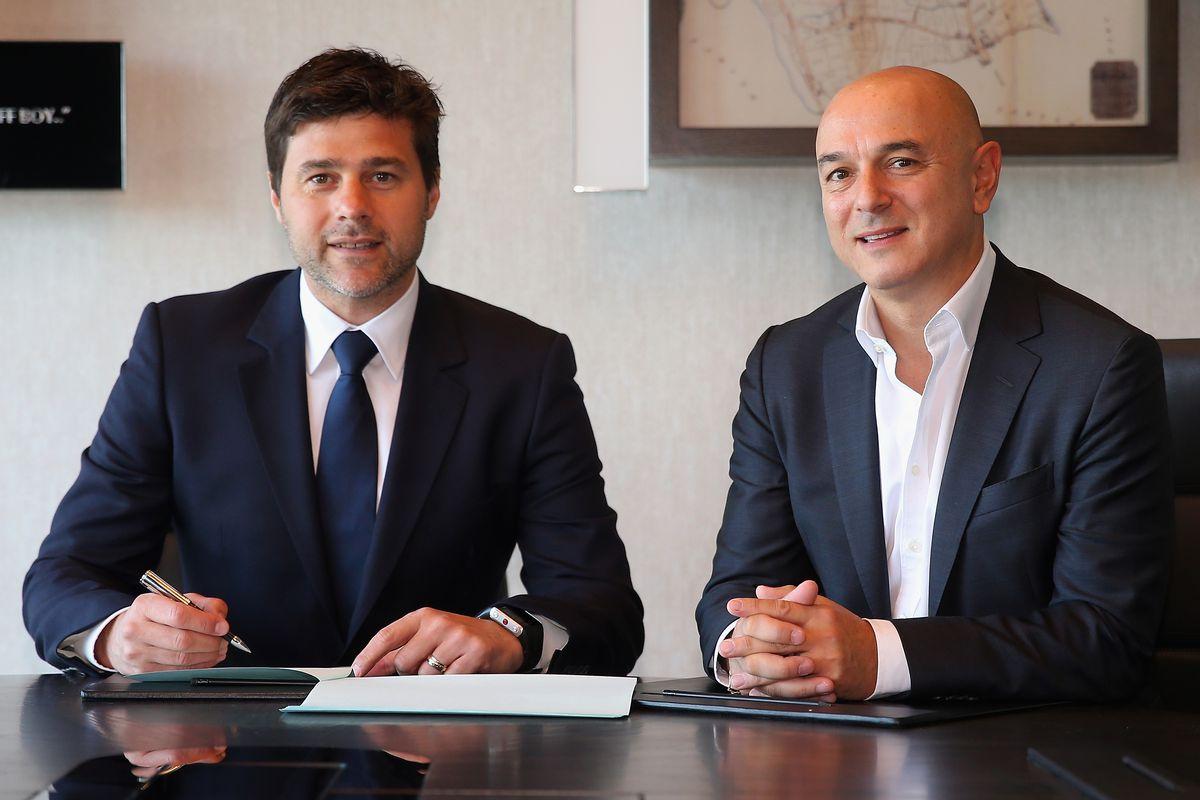 Mauricio Pochettino, Manager of Tottenham Hotspur Signs New Contract