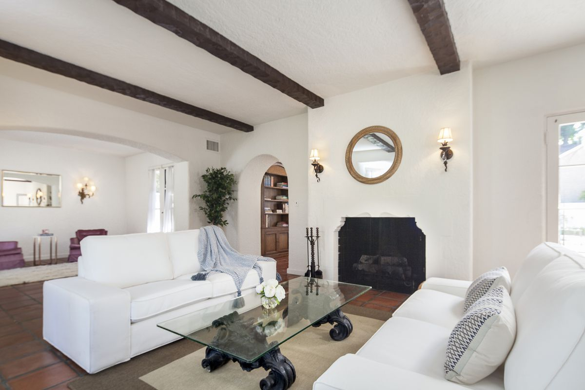 Pasadena Spanish Colonial Revival-style home full of potential lists ...