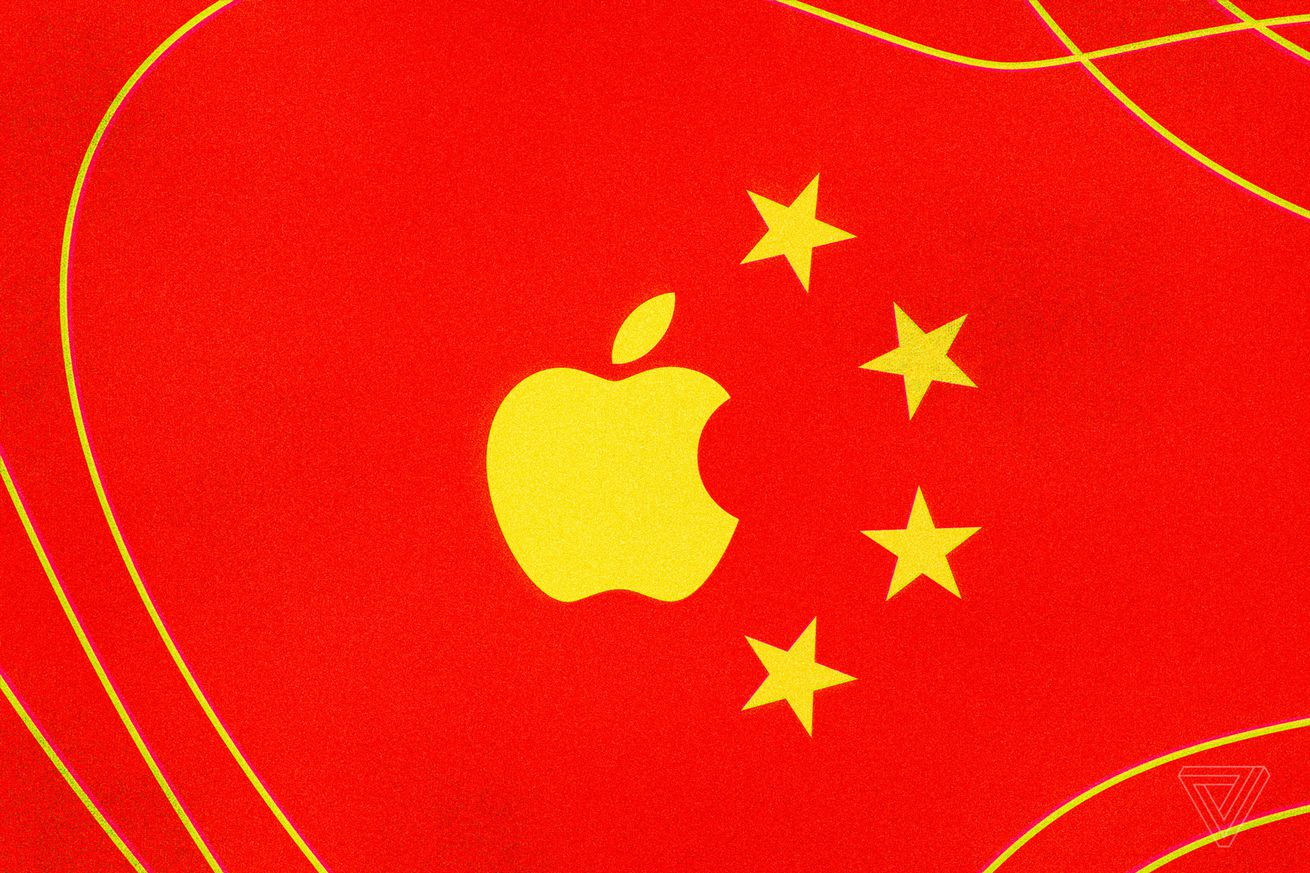 china s smartphone sales slowdown could hurt apple s bottom line goldman says